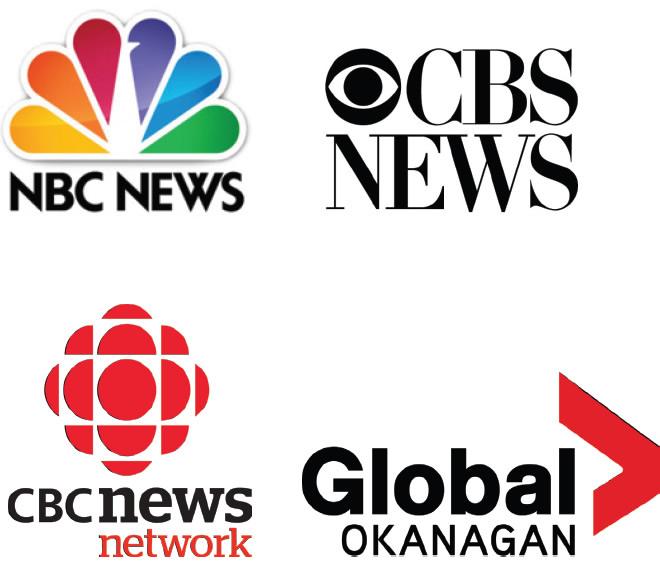 Darren has appeared on NBC News, CBS News, CBC News Network, Global Okanagan