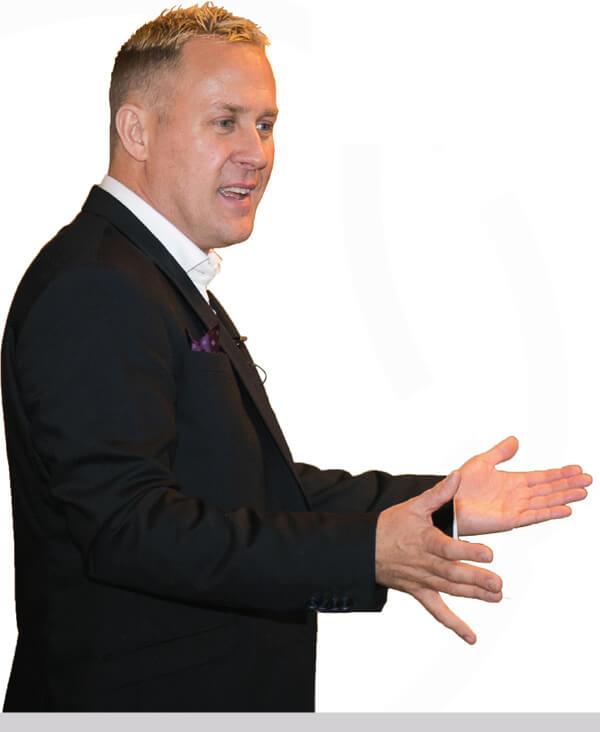 Professional Speaker, Darren Jacklin